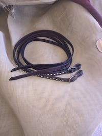 Breast collar with silver trim. Horse size Winchester, 92596