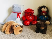 """Moving sell """"giant adorable Soft toys"""" Cockeysville, 21030"""