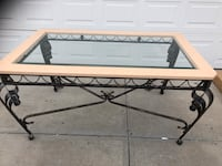 NEW GLASS & METAL DINING TABLE Edmonton, T6X 0A2