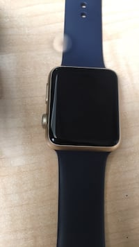 black Apple watch with black sports band Los Angeles, 90011