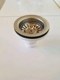 "New - Karran 3.5"" Basket Strainer Stainless"