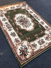 new Traditional Design Area Rug size 5x8 nice green carpet carpets