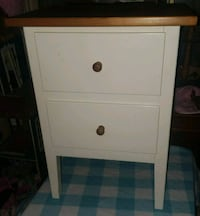 White two drawer dresser Severna Park, 21146