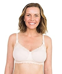 Simple Wishes SuperMom All-in-One Nursing and Pumping Bra, Patent Pending, Blush, 38 DD Fairfax, 22032