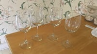 Four crystal wine glasses Wilmington, 28403
