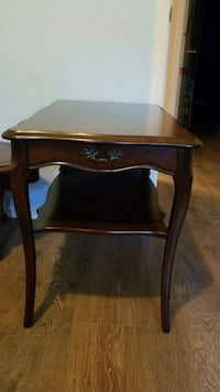 brown wooden side table with drawer Ottawa, K2G 3W6
