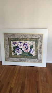 purple and white floral painting Cherry Hill, 08034