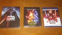 Star Wars Episode 1-8 Blu-ray New Vancouver