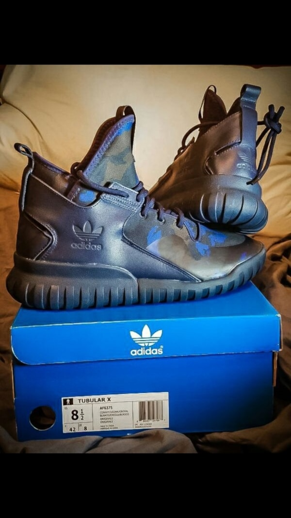 the best attitude c4a18 2dbe7 Brand New Adidas Tubular X size 8.5 for Men Men's shadow knit yeezy  basketball shoes