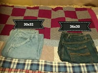 navy gray, and black denim jeans Cross Plains, 37049