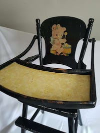 Vintage High Chair &Plant Stand