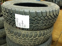 selling A set of two -------185/60R15 GOODYEAR mud and snow  Port Coquitlam