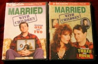 4 NEW Married with Children Seasons 1,2,3,4 DVD's