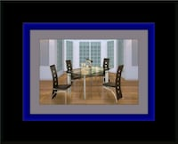 Glass dining table with 4 chairs Capitol Heights, 20743