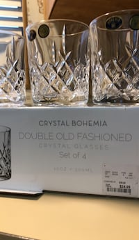 Crystal Glass Brand New. Whiskey  Crystal  Glasses San Leandro, 94579