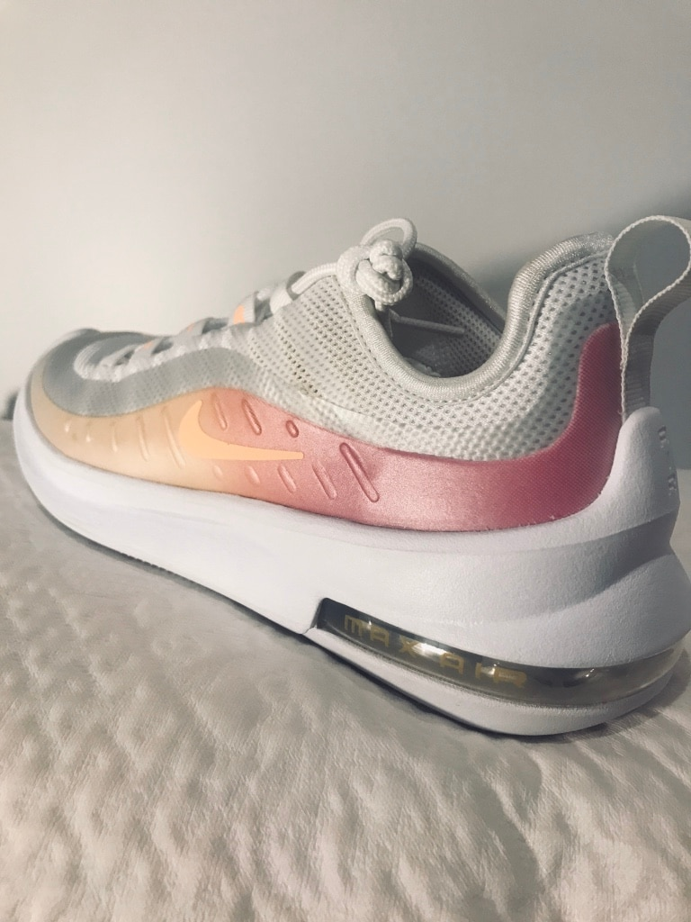 Photo Brand New Size 6.5 Air Max Axis Sneaker (White/Pink/Peach)