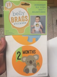 Belly stickers (1 month-18 months) Oxnard, 93033