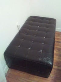 black leather tufted bed headboard Baytown, 77520