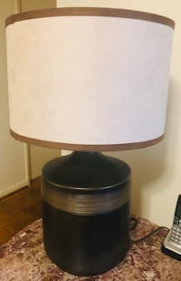 Black and brown table lamp Rockville, 20850