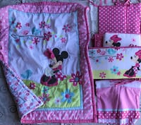 Minnie Mouse crib comforter set Tulare, 93274