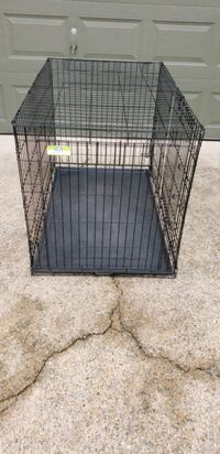 XXLARGE Folding Kennel /Crate with Tray