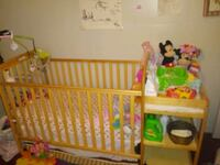 Crib/Changing Table