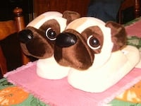 BRAND NEW NEVER USED PUG DOG SLIPPERS Voorhees Township, NJ 08043, USA