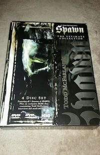 Spawn: The Ultimate Collection (DVD, 1999, 4-Disc  Ventura, 93003