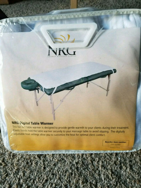 Brand new NRG digital table warmer