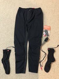 Motorcycle heated pants liner and socks with controller  Belleville, 07109