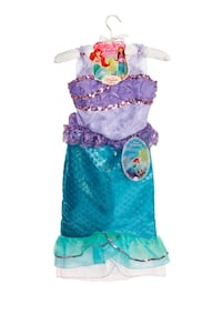 Disney ariel costume  size 4-6x Woodbridge, 22192