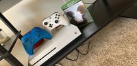 X box one with 2 controllers and halo 5 game Hampton, 23605