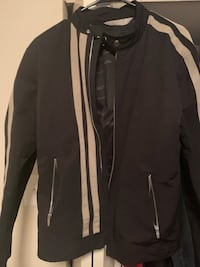 black and white zip-up jacket New Carrollton, 20784