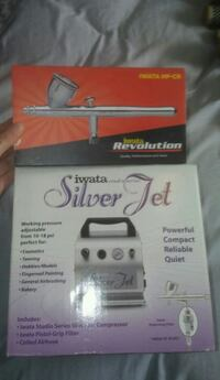Iwata Silver Jet Airbrushing Kit North Vancouver, V7N 1C1