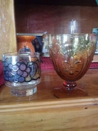 Two antique glasses Chauvin, 70344
