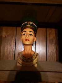 King tutankhamun  queen Nefertiti bust set Midwest City, 73110