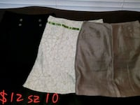 Sz 10 bundle of skirts  Stockton, 95207