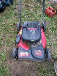 troy bilt self propelled push mower.  Keedysville, 21756
