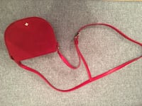Tory Burch red suede saddle bag Laval, H7L 1W3
