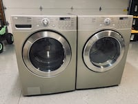 LG washer and gas dryer excellent condition