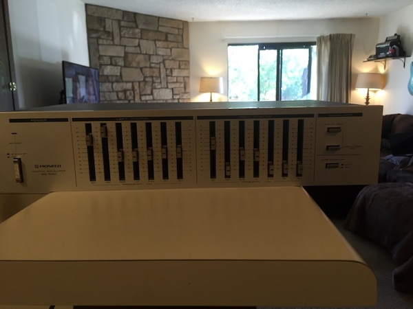 Pioneer 7-Band Graphic Equalizer