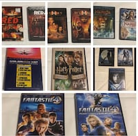 Movie/Music collection. SEE PICTURES! Large Lot!!! (Set #A)