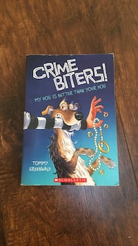 Crime Biters My Dog is Better Than Your Dog by Tommy Greenwalp book Poulsbo, 98370