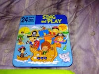 Sing and Play Pirate puzzle and CD Simsbury, 06081