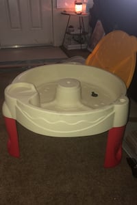 Sand/water portable table