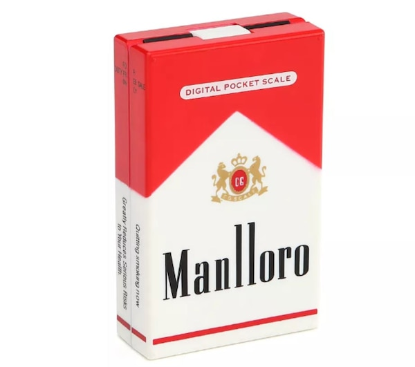 Marlboro Cigarette Pack camouflaged digital scales 5cecdca1-fd17-4119-807a-25002a51af7d