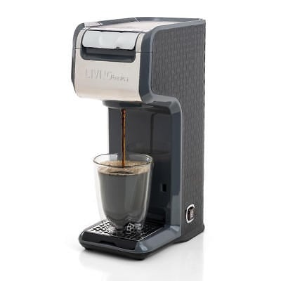 Coffee maker single cup, ground coffee and k cup