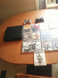 black sony ps3 slim game console Nitro, 25143