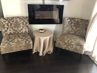 Two elegant chairs for $150 in excellent condition  Laval, H7G