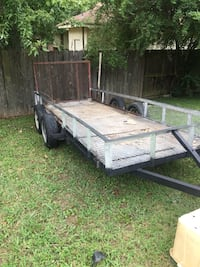 black and brown utility trailer Memphis, 38127